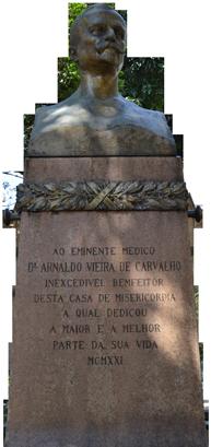 Busto Arnaldo Vieira de Carvalho